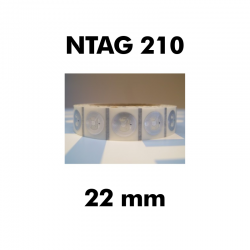 White Ntag213 Smart Cards