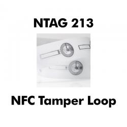 Tamper Loop NFC Stickers...