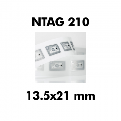 White Ntag216 NFC Cards