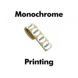 Impression monochrome